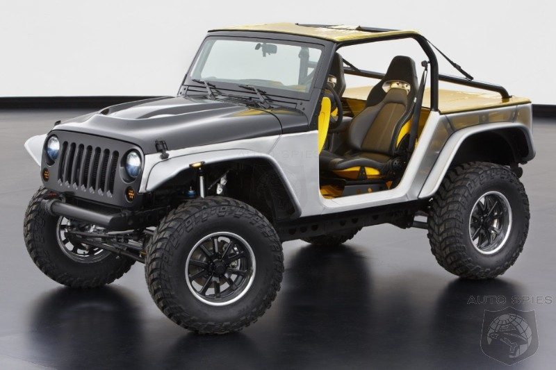 Jeep To Deliver A Six Pack Of Off Road Concepts For Easter